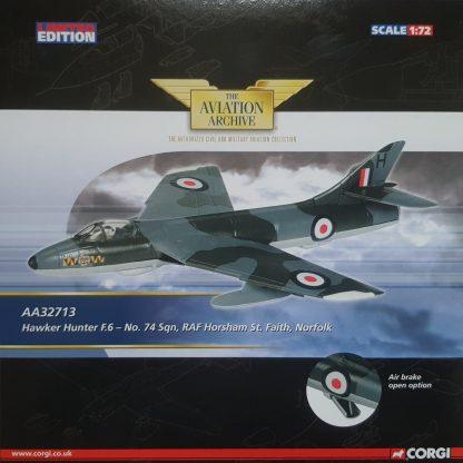corgi AA32713 Hawker Hunter