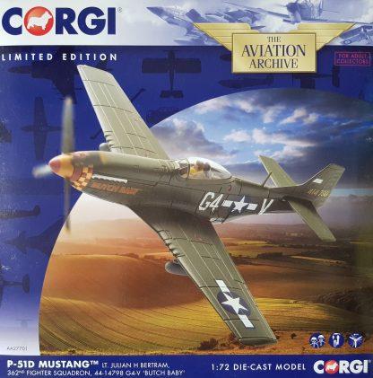 corgi AA27701 P-51D Mustang