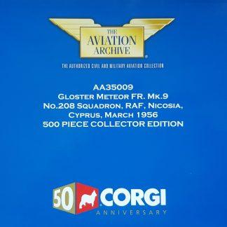 Corgi AA35005 Meteor