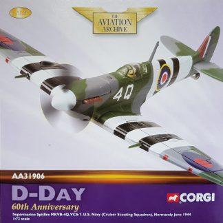 corgi AA31906 Supermarine Spitfire
